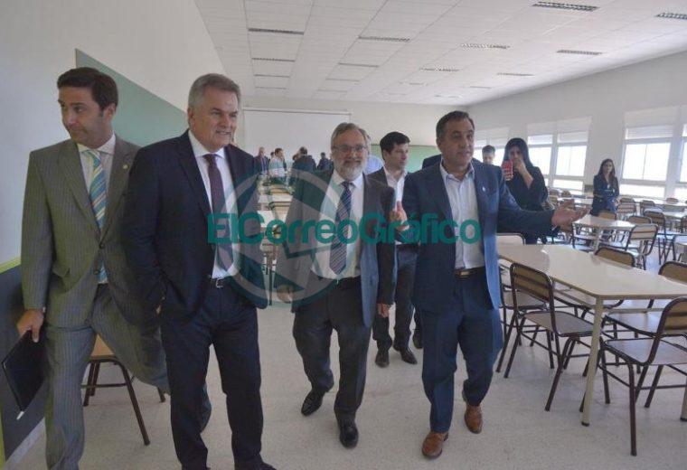 Se inauguró un nuevo pabellón en la Universidad Nacional del Sur 02