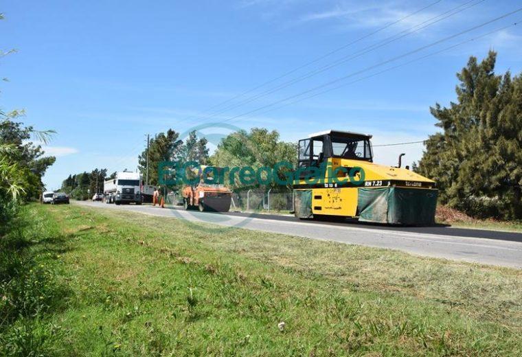 Trabajos de bacheos sobre Ruta 15 desde calle 52 hasta el Camino Real 04