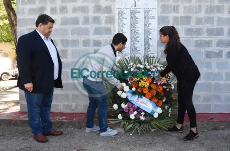 Nedela encabezó el acto oficial por el Día nacional de la Memoria 5