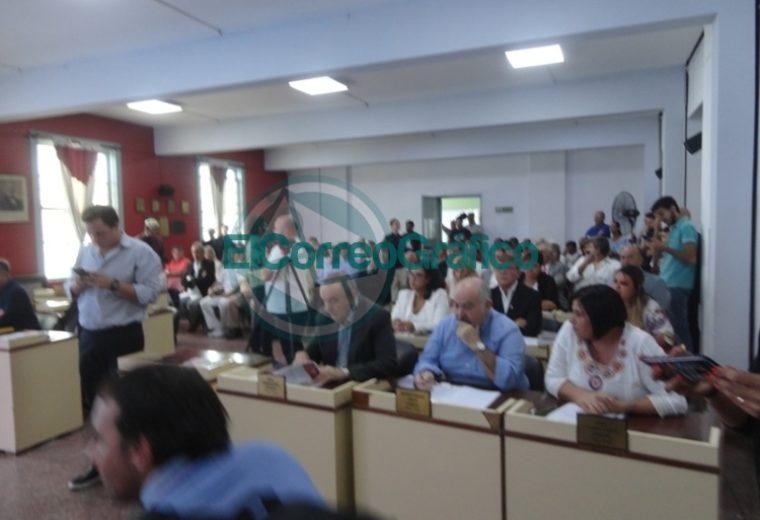 Nedela hizo hincapié en sus 38 meses de gestión en el discurso inaugural del Concejo Deliberante 01