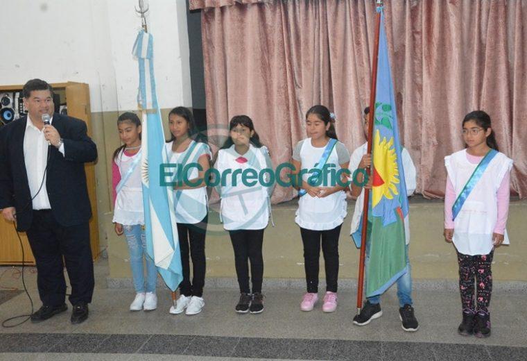 Nedela y el ministro bonaerense de Trabajo realizaron el acto de inicio del ciclo lectivo en Berisso 01