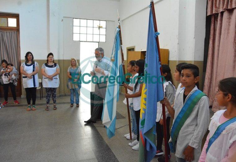 Nedela y el ministro bonaerense de Trabajo realizaron el acto de inicio del ciclo lectivo en Berisso 02