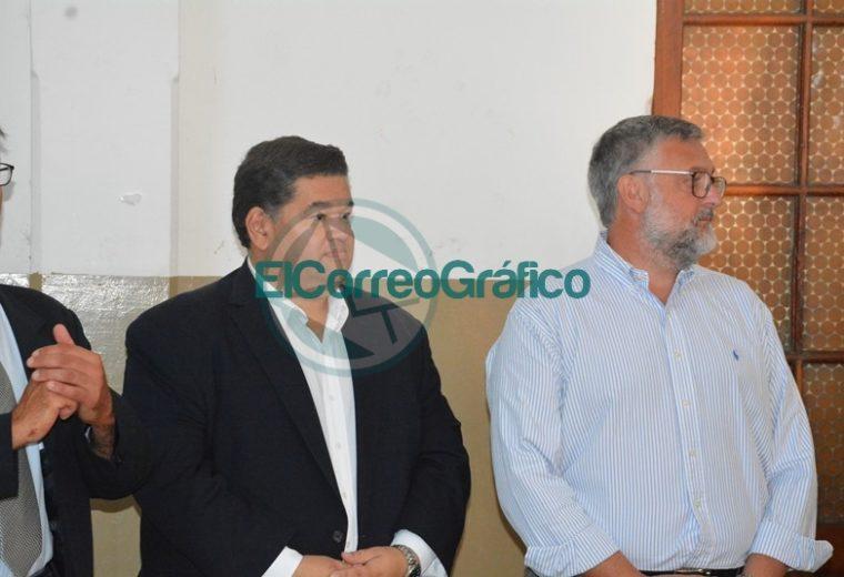 Nedela y el ministro bonaerense de Trabajo realizaron el acto de inicio del ciclo lectivo en Berisso 04
