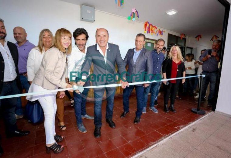 Secco inauguró el ciclo lectivo en el distrito de Ensenada 03