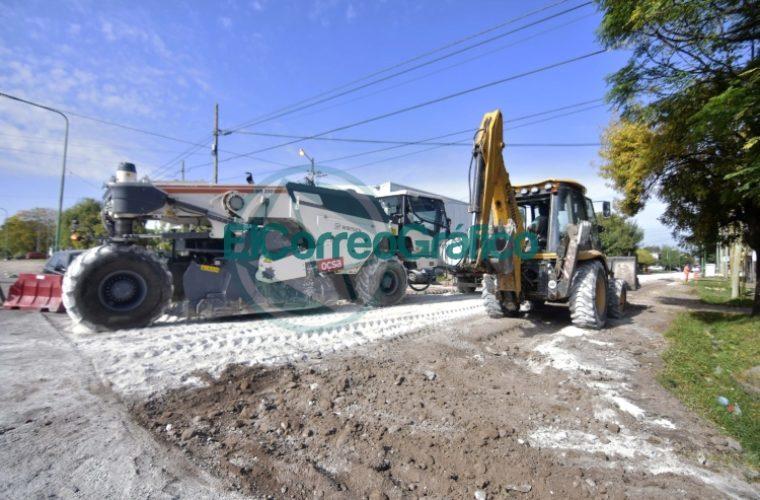Avanza el plan de infraestructura vial en la localidad de San Carlos 03