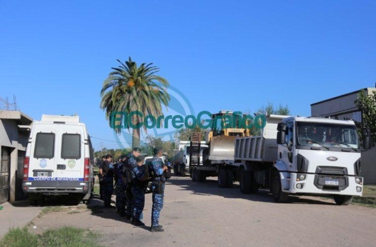 Derriban tres 'búnkers narco' en La Plata 4