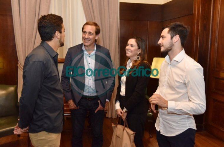 Garro recibió a la Embajadora de Venezuela puesta en función por Guaidó 02