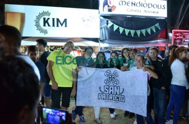 Más de 100 mil personas disfrutaron el festival cervecero platense 'San Patricio' en el Camping Municipal 07