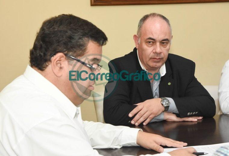 Nedela firmó un convenio con el Colegio de Ingenieros de la Provincia 1