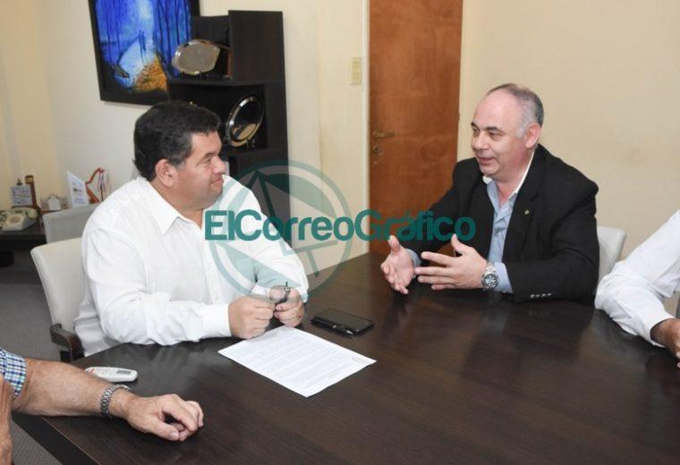 Nedela firmó un convenio con el Colegio de Ingenieros de la Provincia 3
