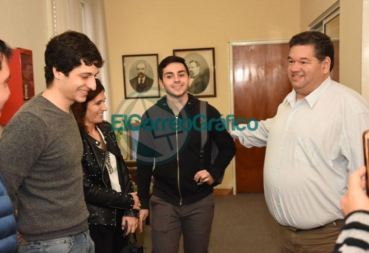 Nedela recibió a Joaquín Inama quien representará al país en la Olimpiada Internacional de Matemática 2