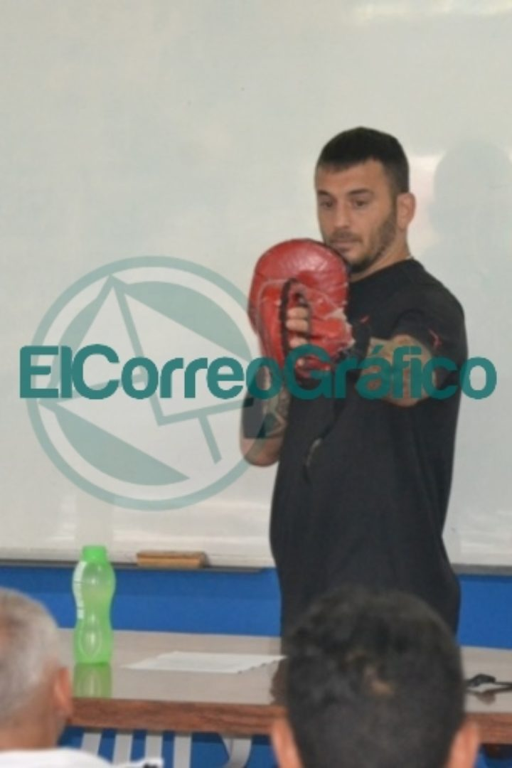 Se realizó la capacitación de Boxeo con Mariano Plotinsky 3