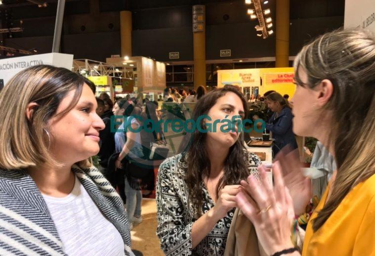 Cincotta se paseó por la Feria del Libro defendiendo la Educación Sexual Integral 2