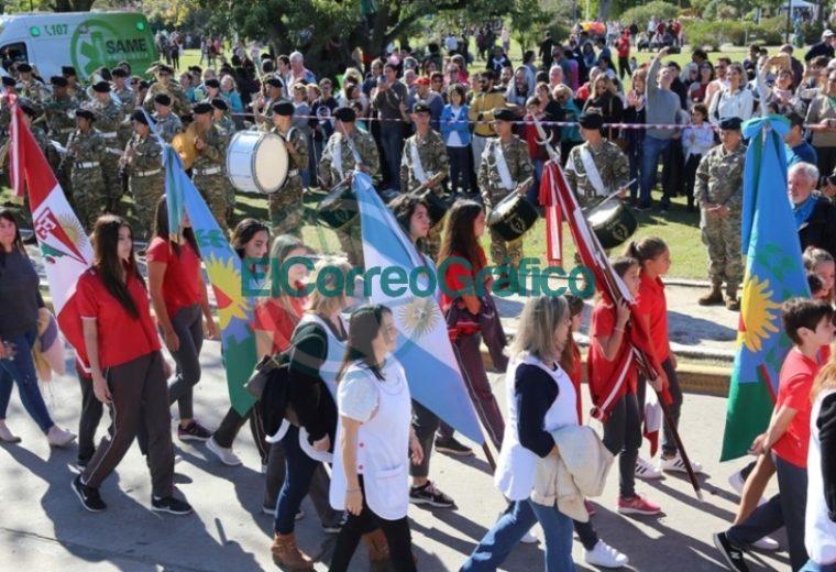 Con un gran desfile y un clima familiar, City Bell celebró su 105° aniversario 2