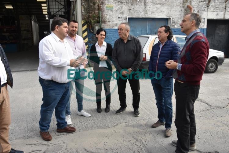 El ministro Sica y el intendente Nedela visitaron las instalaciones de empresas 0