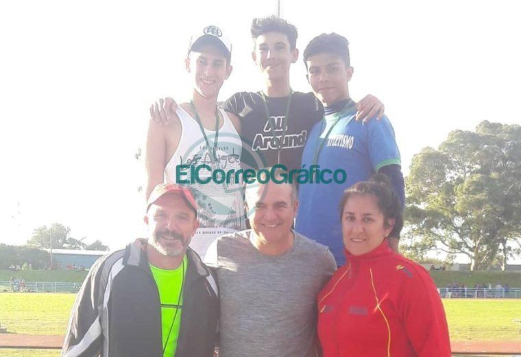 Escuela Municipal de Atletismo de Berisso participó en la Campeonato Argentino U16 03