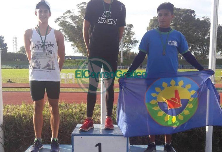 Escuela Municipal de Atletismo de Berisso participó en la Campeonato Argentino U16 04
