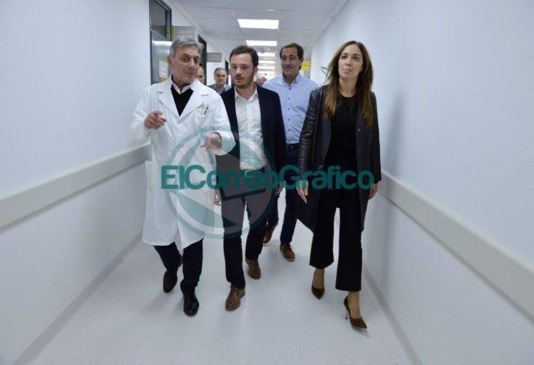Vidal visitó la nueva Guardia y Emergencias del Hospital San Juan de Dios 11