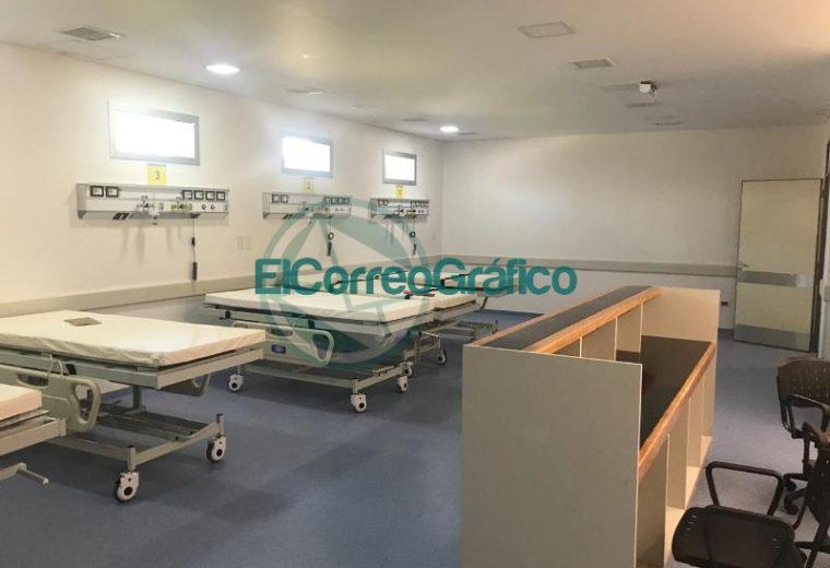 Vidal visitó la nueva Guardia y Emergencias del Hospital San Juan de Dios 13