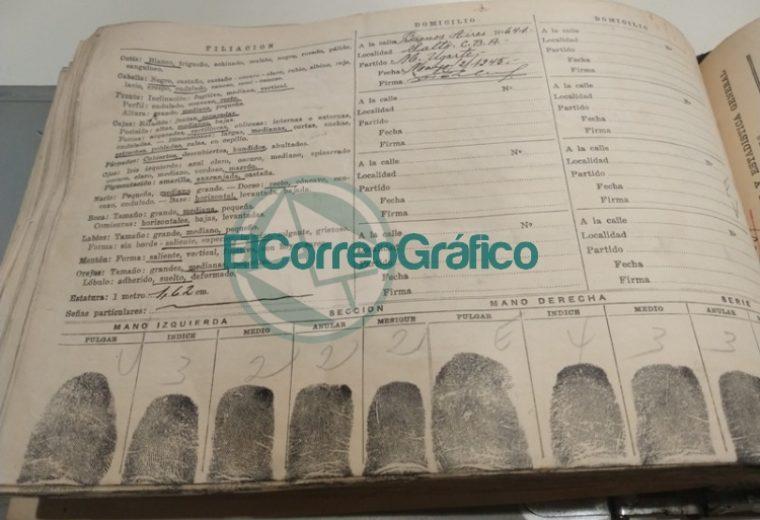 Documentación histórica de inmigrantes en Berisso realizado por el Registro Provincial de las Personas 5