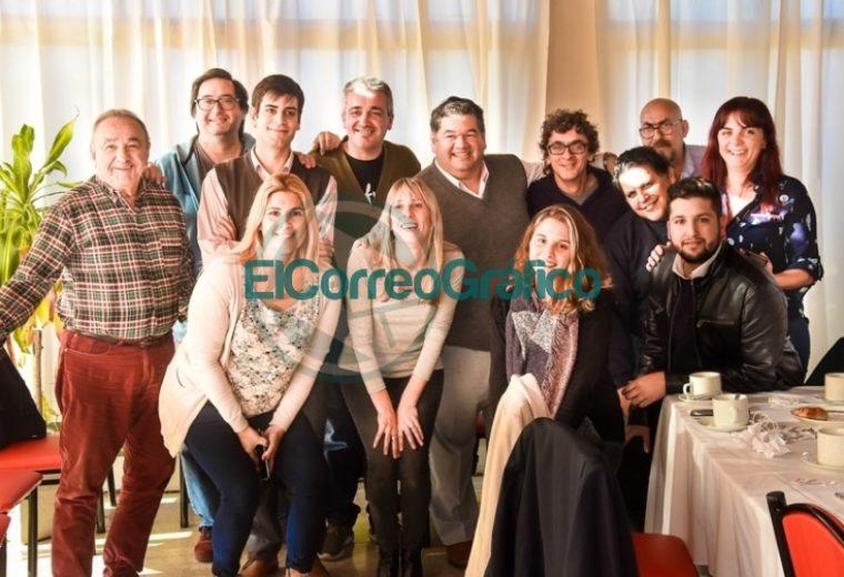 El intendente Jorge Nedela saludó a los periodistas en su Día 6