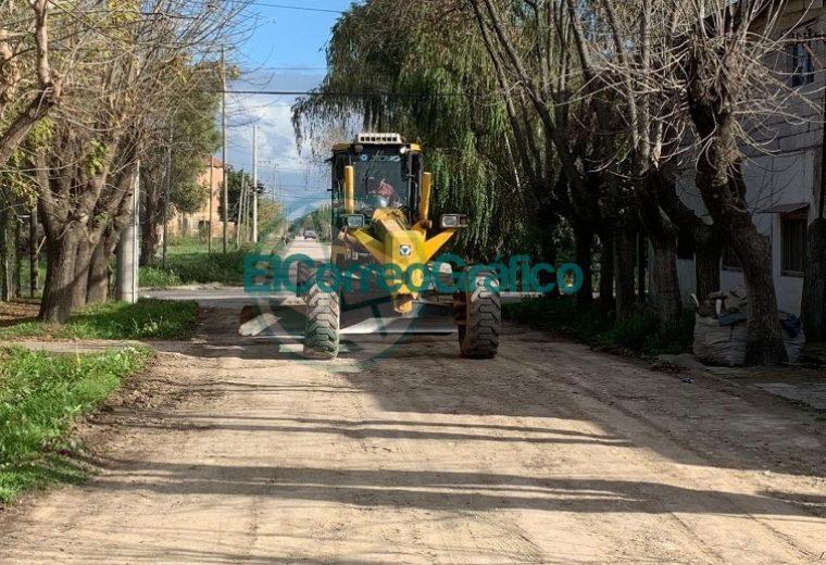 Mejoramiento de calles de tierra en Berisso 2