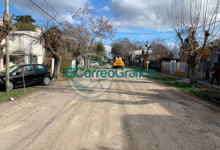 Mejoramiento de calles de tierra en Berisso 4