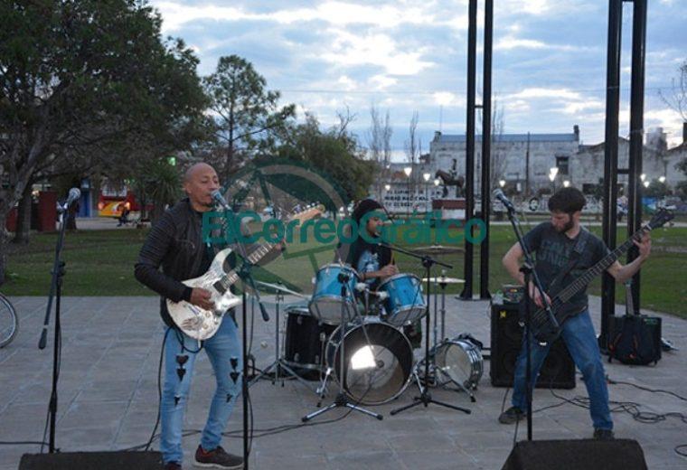 Se inició el Consejo de la Música de Berisso en el Parque Cívico 1