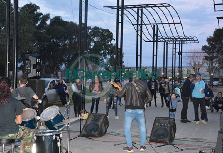 Se inició el Consejo de la Música de Berisso en el Parque Cívico 4