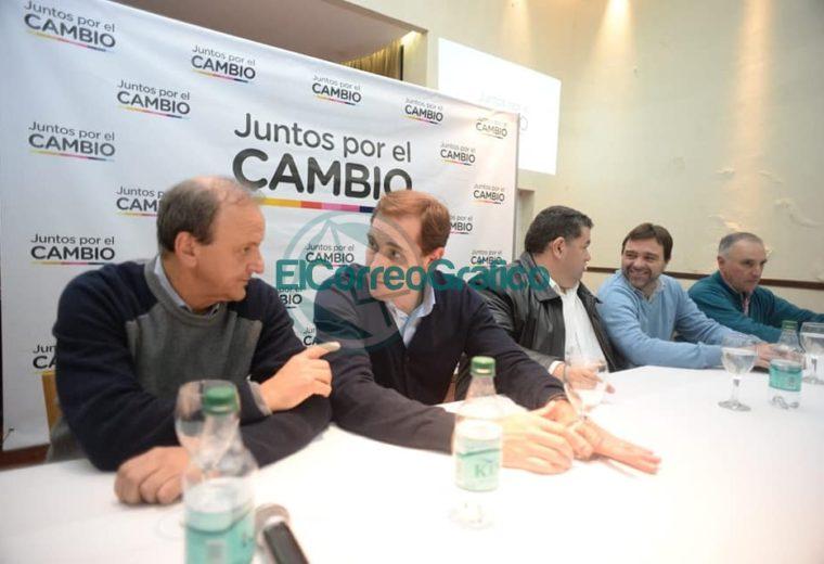 'Juntos por el Cambio' presentó a sus candidatos de la Región Capital 01