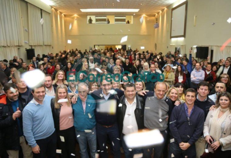 'Juntos por el Cambio' presentó a sus candidatos de la Región Capital 05