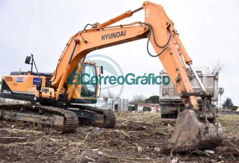 Comenzó la construcción de un reservorio en Los Hornos 2