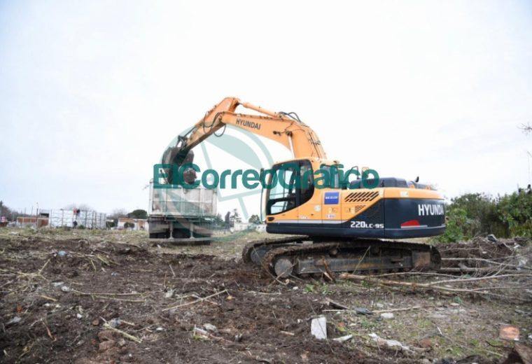 Comenzó la construcción de un reservorio en Los Hornos 3