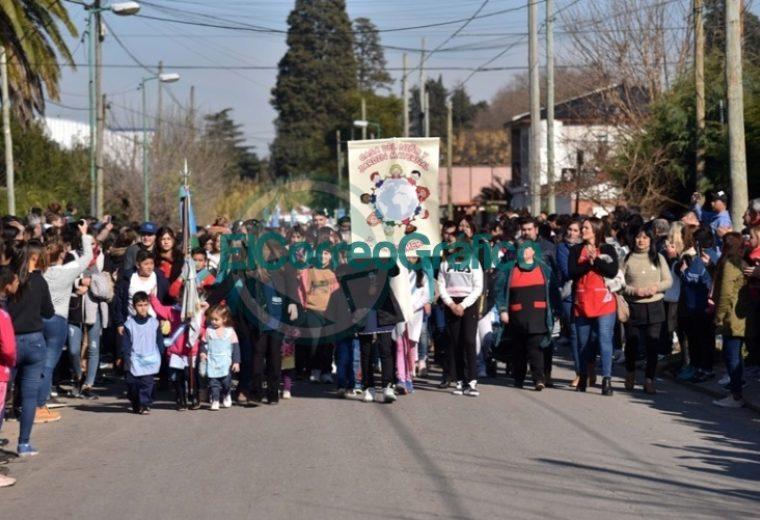 Con un colorido festejo, Melchor Romero celebró su 135° aniversario 5