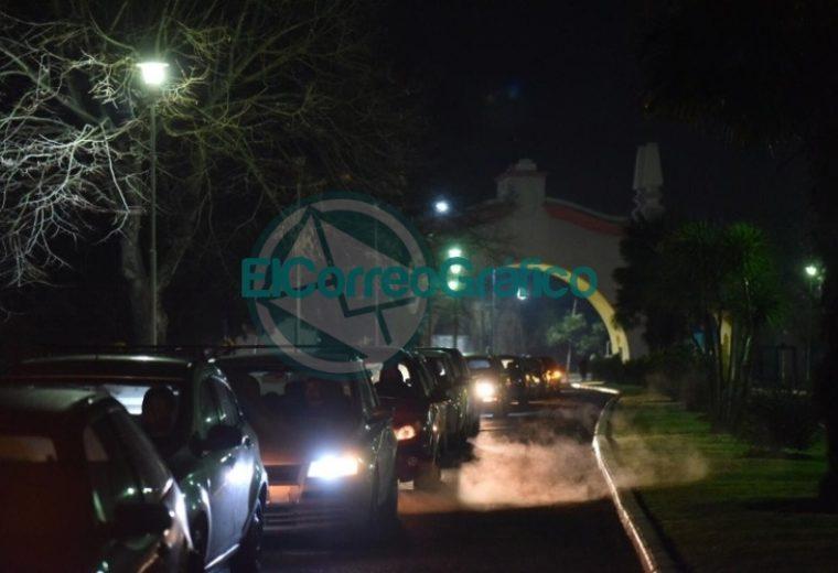 Con una atractiva propuesta, el estacionamiento de La República de los Niños se convirtió en un autocine 11