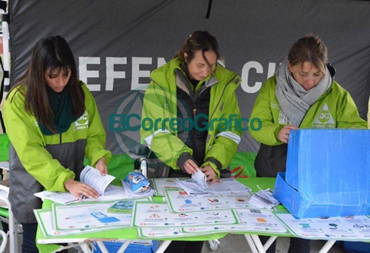 Defensa Civil de la Provincia brindó Charlas de RCP y talleres de prevención en Berisso 2