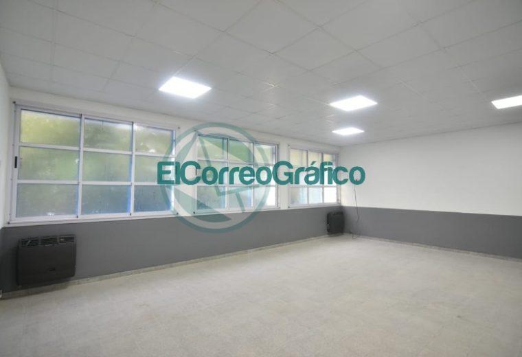 Garro inauguró el nuevo edificio de la Escuela Secundaria Básica Nº 37 de Arana 03