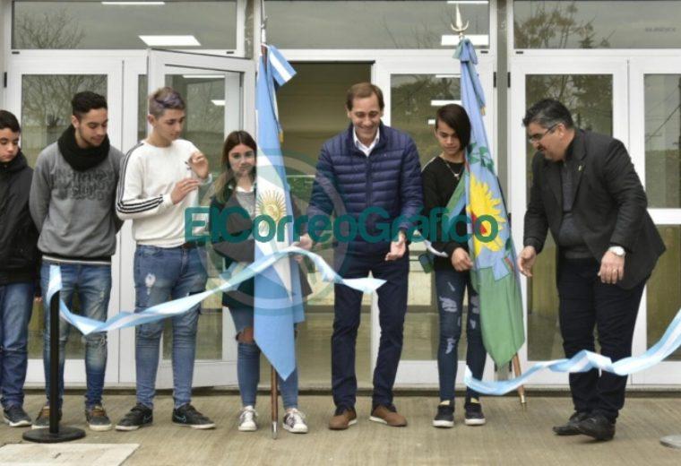 Garro inauguró el nuevo edificio de la Escuela Secundaria Nº 43 01
