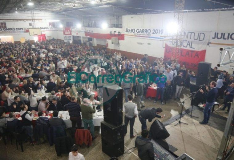 Garro y Salvador en acto del radicalismo de La Plata 5