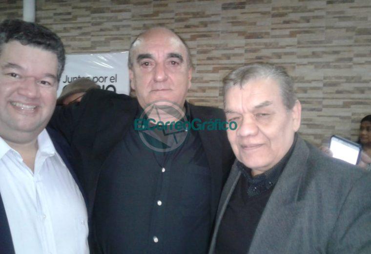 Jorge Nedela junto a Daniel Del Curto