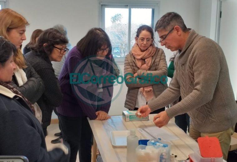 Los profesionales de Atención Primaria de la Salud recibieron capacitación sobre implementación de test rápidos de sífilis 5