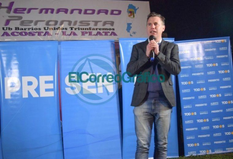 Martelli en Altos de San Lorenzo inauguró un subcomando para su campaña 01