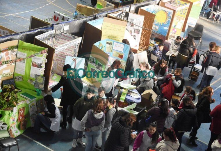 Sanchez Zinny recorrió la Feria de Ciencias Distrital y de la Primera Exposición Educativa de Berisso 3