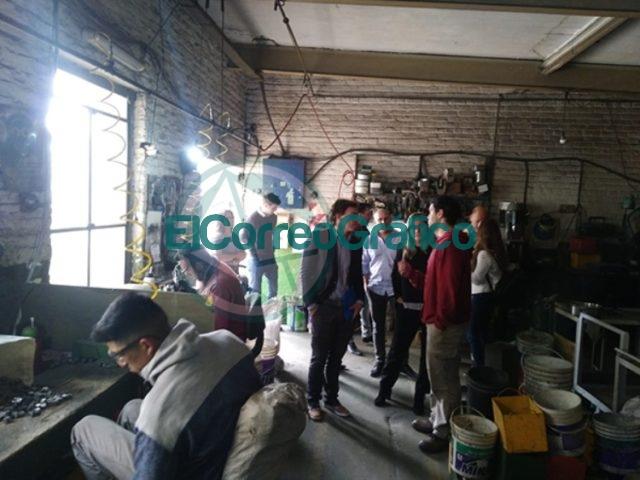 Autoridades nacionales visitaron los cursos que dicta el programa de Empleo en Berisso 1