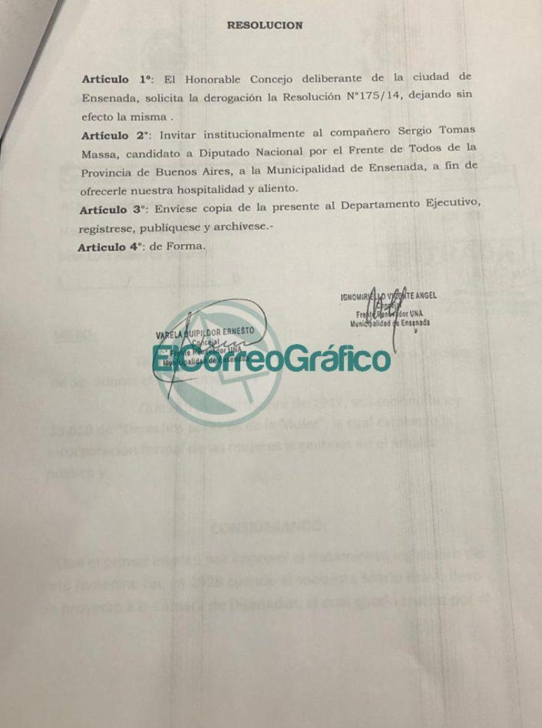 Derogación de persona no grata en Ensenada a Sergio Massa 2