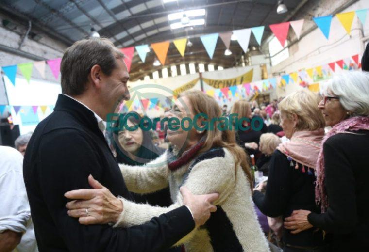 Garro celebró el Día del Abuelo en el Club Unión Vecinal 3