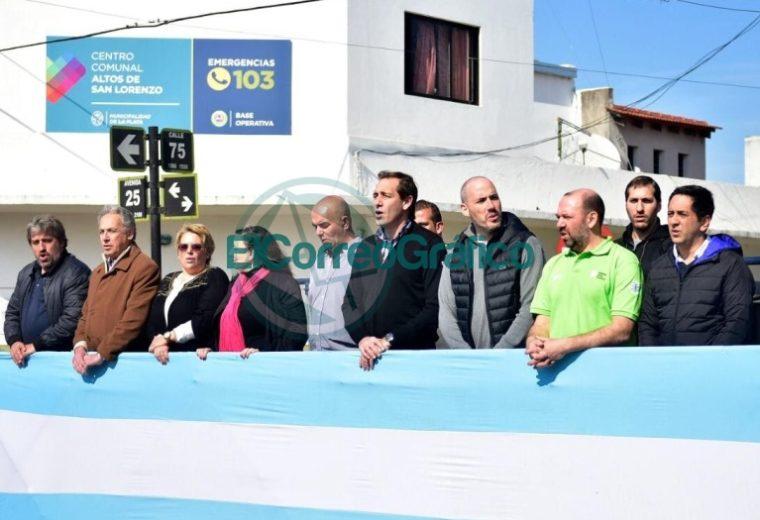 Los vecinos de Altos de San Lorenzo festejaron los 27 años de la localidad 12