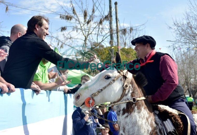 Los vecinos de Altos de San Lorenzo festejaron los 27 años de la localidad 14
