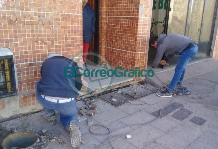 Trabajos de mantenimiento en el Sindicato de Municipales y en su Camping 2