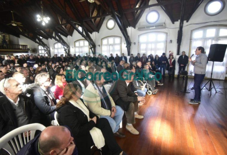 gabinete ampliado de Julio Garro La Plata 3